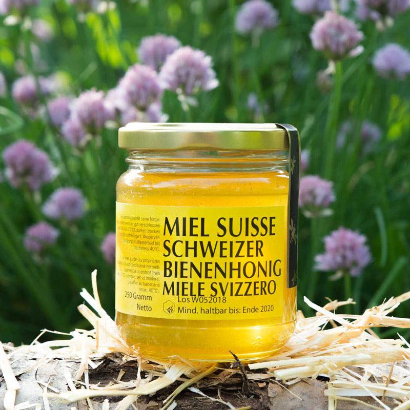 Frühlingshonig 250g Glas | Imkerei-Eberle | Schweizer Bienenhonig